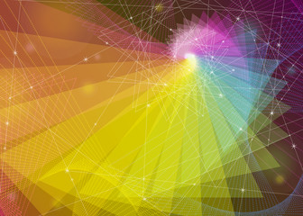 Abstract multicolored vector background. Eps 10.