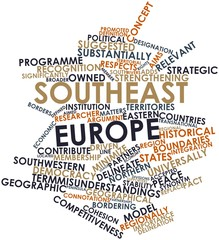 Word cloud for Southeast Europe