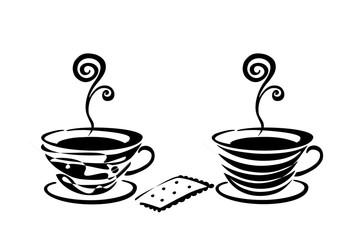 Kaffeetassen s/w