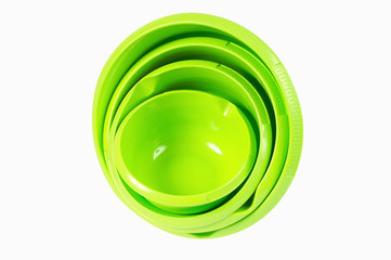 Plastic bowl set