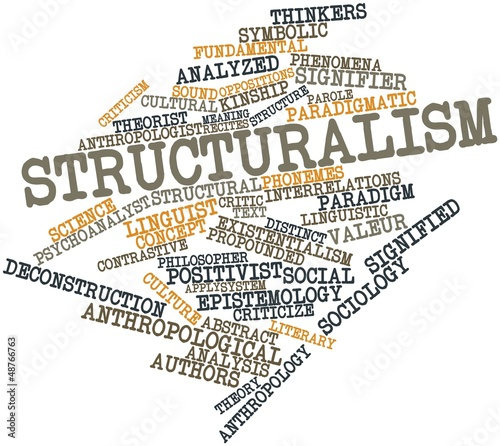 Word cloud for Structuralism