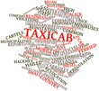 Word cloud for Taxicab