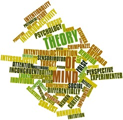 Word cloud for Theory of mind