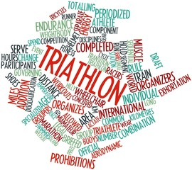 Word cloud for Triathlon