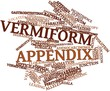 Постер, плакат: Word cloud for Vermiform appendix