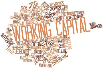 Word cloud for Working capital