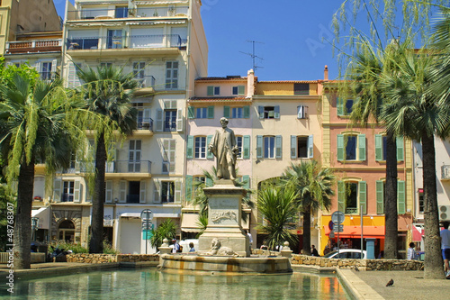 On the strret of Cannes city, France