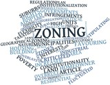 Word cloud for Zoning