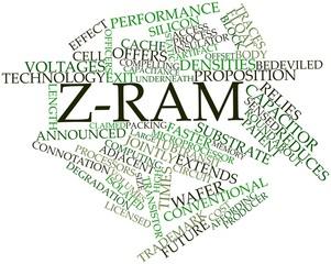 Word cloud for Z-RAM