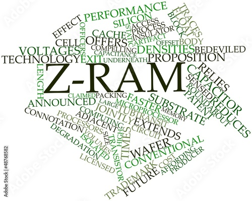 Word cloud for Z-RAM