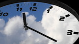 Clock in time-lapse loop