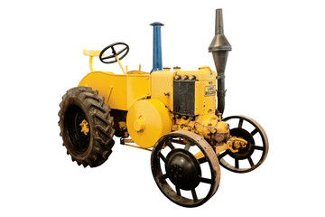 Lance Bulldog - tractor from the 1930-s
