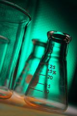 Lab beakers