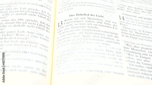 Popular Bible passage for St. Valentine's Day and wedding