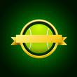 Vector tennis emblem