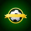 Vector Soccer Emblem