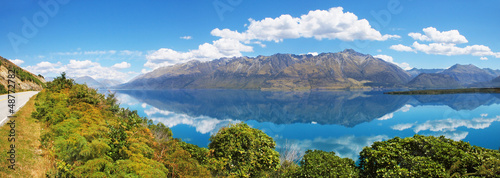 Lake Wakatipu, South Island of New Zealand