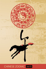Horse - Chinese zodiac and new year animal