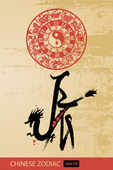 Dragon - Chinese zodiac and new year sign