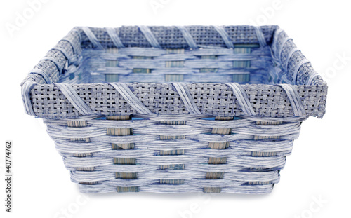 Blue basket