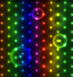 Glowing dots abstract background