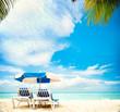 Fototapete Paradise - Tropisch - Hintergrund