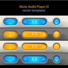 Media player control elements