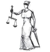 Themis (Femida) déesse de la justice