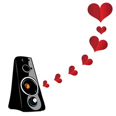 Love and music. Romantic music