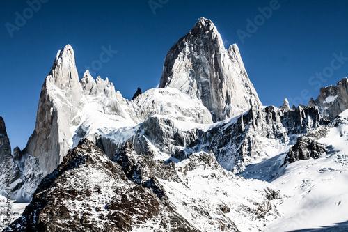 Mt. Fitz Roy in Los Glaciares National Park,Patagonia,Argentina