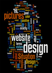 The Key to Better Websites B Design Concept