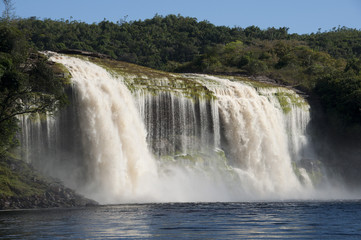 Waterfall at Canaima, Venezuela