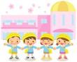 園児と幼稚園