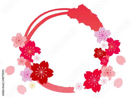 桜_輪_白