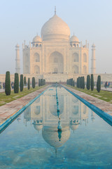 Taj Mahal in Agra India