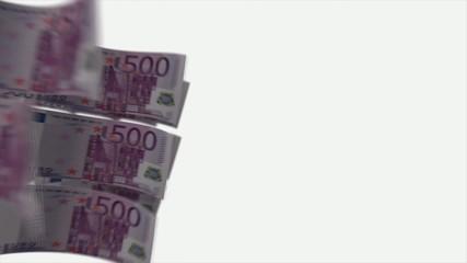 цикличное врещение 500 euro с альфа каналом