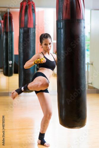 Kick practice