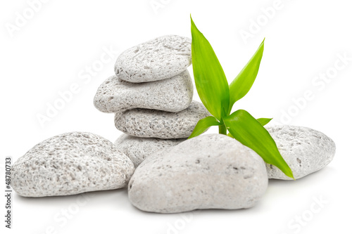 canvas print picture zen stones