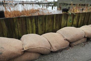 Sandbag Flood Protection