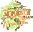 Word cloud for Antiparkinson