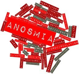 Word cloud for Anosmia