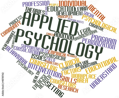 Word cloud for Applied psychology