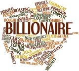 Word cloud for Billionaire