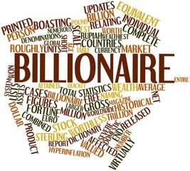 Word cloud for Billionaire