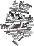 Word cloud for Christian apologetics