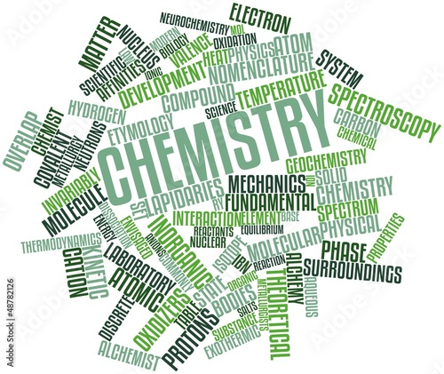 Word cloud for Chemistry