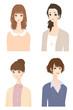 色々な女性