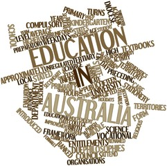 Word cloud for Education in Australia