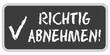CB-Sticker TF eckig oc RICHTIG ABNEHMEN!