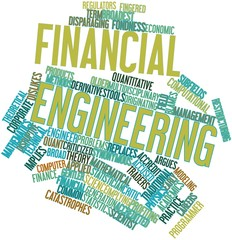 Word cloud for Financial engineering